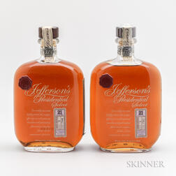 Jeffersons Presidential Select 21 Year Old, 2 750ml bottles