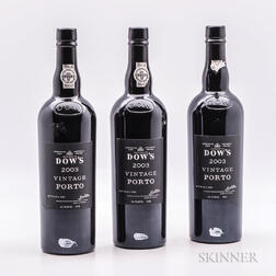 Dows Vintage Port 2003, 3 bottles