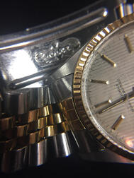 Rolex Two-tone Reference 16013 Datejust Wristwatch