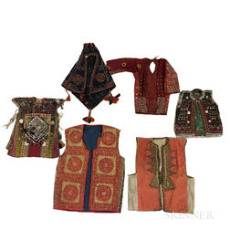 Six Turkoman Vests