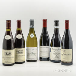Mixed Burgundy, 6 bottles