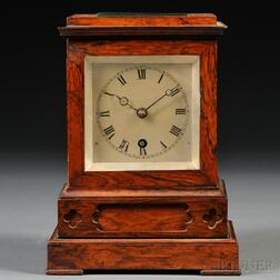 Rosewood Library Clock