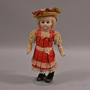Francois Gautier Bisque Head Doll