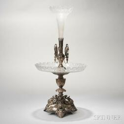 Late Victorian Silver-plated Epergne