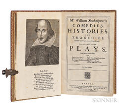 Shakespeare, William (1564-1616) Mr. William Shakespears Comedies, Histories, and Tragedies. Published according to the true Original
