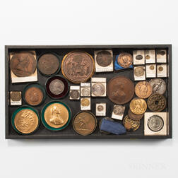 Small Group of Medals and Tokens