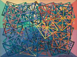DeHirsh Margules (American, 1899-1965)      Untitled Geometric Abstract