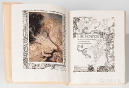 Rackham, Arthur, illus. (1867-1939) William Shakespeare's The Tempest  , Signed Limited Edition.