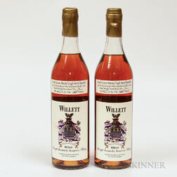 Willett Family Estate Bourbon 4 Years Old 2003, 2 750ml bottles