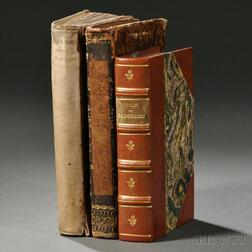 North America and Far West Exploration, 1654, 1772, and 1850, Three Volumes.