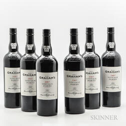 Grahams Vintage Port 2007, 6 bottles