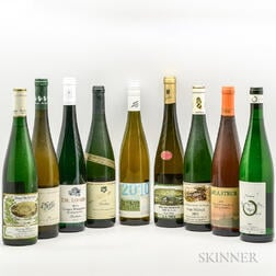 Mixed Riesling, 9 bottles