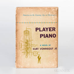 Vonnegut, Kurt Jr. (1922-2007) Player Piano  , First Edition, Author's First Book.