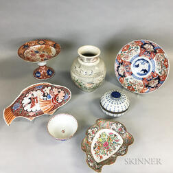 Seven Asian Ceramic Items