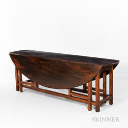 George III Mahogany Hunt Table