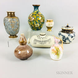 Seven Doulton Ceramic Items