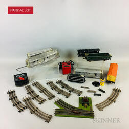 Group of Lionel Trains and Tracks