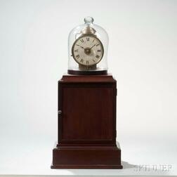 "Patent Alarm Timepiece or ""Lighthouse Clock"" Attributed to Simon Willard"