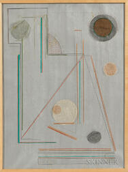 Lucia Stern (American, 1895-1987)      Abstract Composition