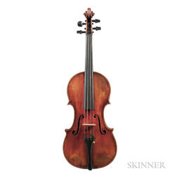 American Violin, Homer H. Clark, Salt Lake City, c. 1980