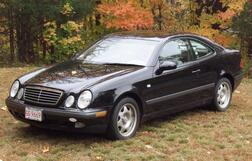 1999 Mercedes CLK320 Coupe Automobile