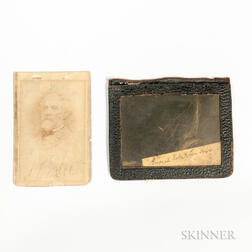 Carte-de-visite and Lock of Hair from General Robert E. Lee