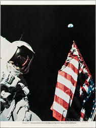 Apollo 17, Lithographs and Ephemera, Ten Pieces.