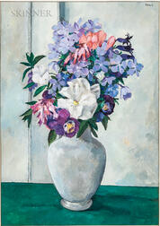 Tosca Olinsky (American, 1909-1984)      Flowers in a Vase