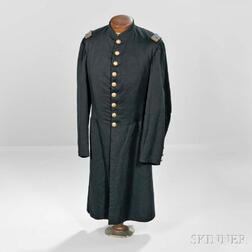 Civil War Officer's Frock Coat Identified to Henry Throop Hall, 34th Massachusetts Infantry Regiment