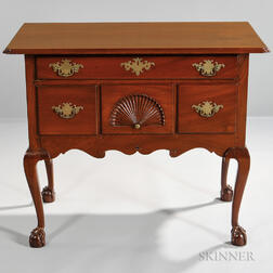 Carved Mahogany Dressing Table