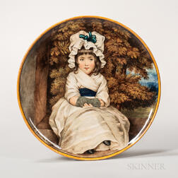 Minton Earthenware Portrait Charger