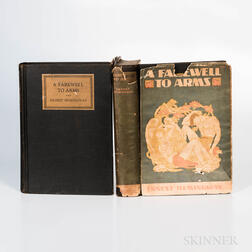 Hemingway, Ernest (1899-1961) A Farewell to Arms  , First Edition.