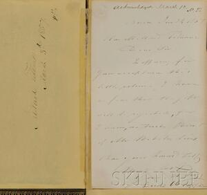 (Fillmore, Millard, 1800-1874), his copy, & Webster, Daniel (1782-1852)