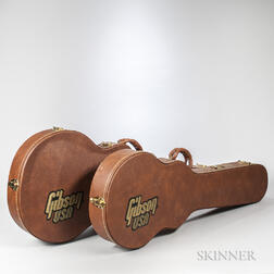 Two Gibson Electric Guitar Cases, c. 2000