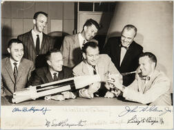 Project Mercury 7 Astronauts, Signed Photograph.