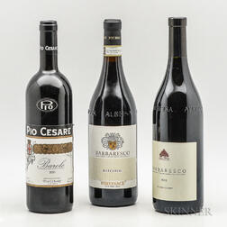 Mixed Piedmont Wines, 3 bottles 1 magnum (gift set)