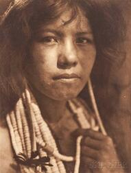 Edward Sheriff Curtis (American, 1868-1952)      Nine Photogravures from The North American Indian ,  Volume 14