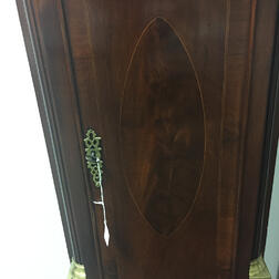 Gardner Parker No. 126 Inlaid Mahogany Tall Clock