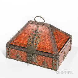 Painted Dowry Box