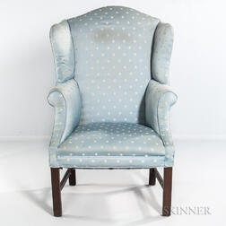 Chippendale Mahogany Easy Chair