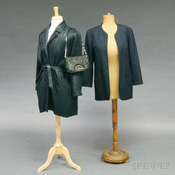 Three Pieces of Lady's Designer Clothing and Accessories