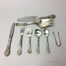 "Eight Reed & Barton ""Francis I"" Pattern Flatware Pieces"