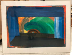 After Howard Hodgkin (British, 1932-2017)      Gossip