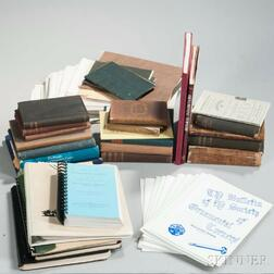 Collection of Books and Material Related to Ornamental Turning