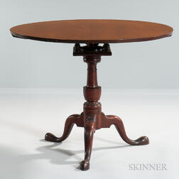 Cherry Tilt-top Tea Table