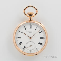 Patek Philippe & Co. 18kt Gold Open-face Watch