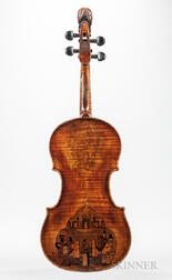 French Violin, Honoré Derazey, Mirecourt, c. 1840
