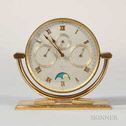 Tiffany & Co. Triple Date Desk Clock