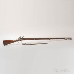 French Model 1777 Musket and Bayonet