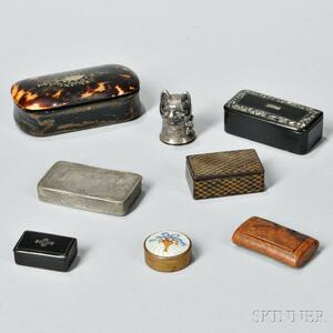 Eight Patch/Snuff Boxes